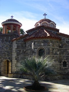 One of seven churches on the monastery grounds.